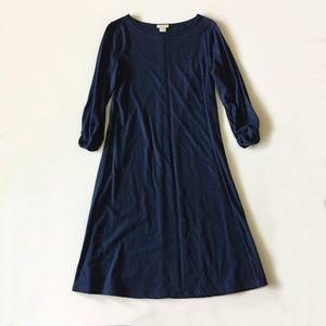 Sundance Blue 3/4 Sleeve Cotton Dress Size M